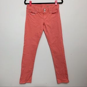 Lilly Pulitzer Coral Worth Straight Jean